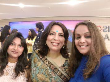With Abha Singh